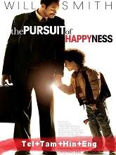 The Pursuit of Happyness (2006) BRRip Original [Telugu + Tamil + Hindi + Eng] Dubbed Movie Watch Online Free